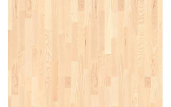 Ясень анданте, белый мат. лак, Коллекция Longstrip, Boen ASGV32TD