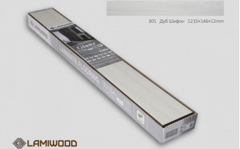 Ламинат Lamiwood Дуб Шифон 301
