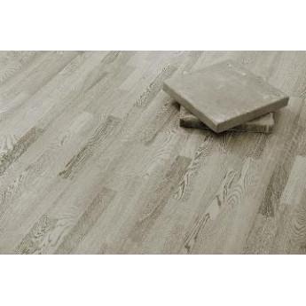 Паркетная доска Karelia Дуб concrete grey трёхполосная