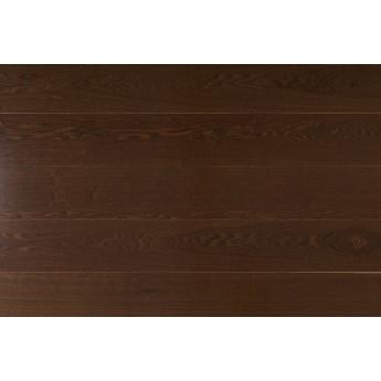 Паркетная доска Amber Wood Ясень Шоколад лак