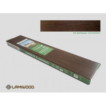 Ламинат Lamiwood Дуб Виндзор 206