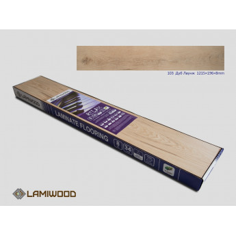 Ламинат Lamiwood Дуб Лаунж 103