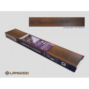 Ламинат Lamiwood Дуб Грайм 104