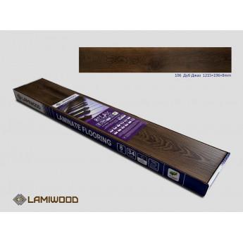 Ламинат Lamiwood Дуб Джаз 106