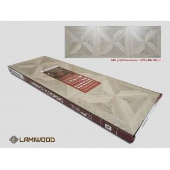 Ламинат Lamiwood Дуб Розенталь 844