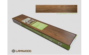 Ламинат Lamiwood Дуб Морёный 2411