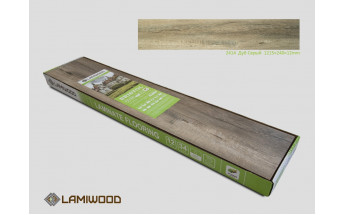 Ламинат Lamiwood Дуб Серый 2414