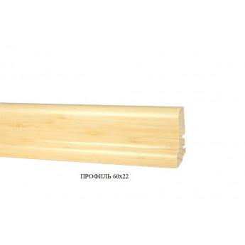 Плинтус Tecnorivest Дуб белёный 60Х22